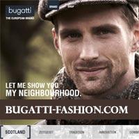 Bugatti Homepage