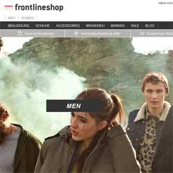 Frontlineshop Relaunch