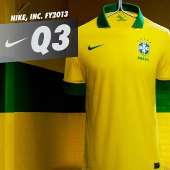 Nike Inc. Umsatz 2013