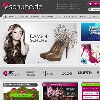 Schuhe.de Online-Shop