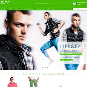 Hugo Boss Online-Shop