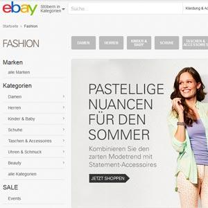 Ebay.de Mode-Shop