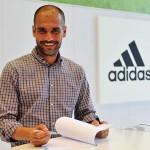 Pep Guardiola für adidas