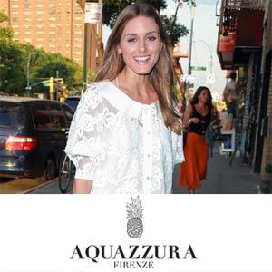 Olivia Palermo Aquazzura